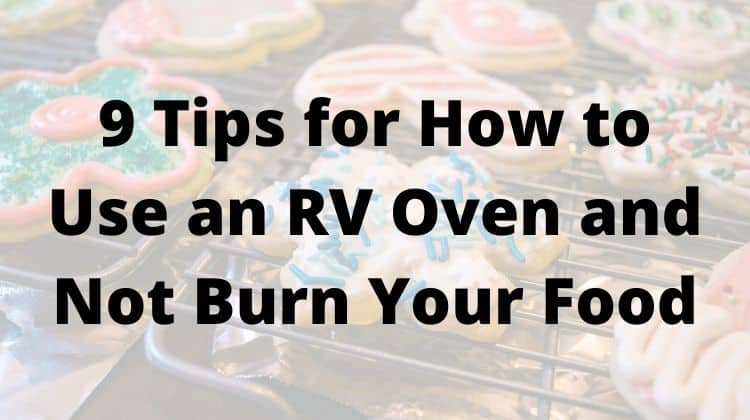 9 Tips for How to Use an RV Oven and Not Burn Your Food